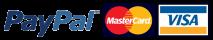 Visa, Mastercard and PayPal