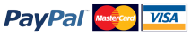 Visa, Mastercard and PayPal